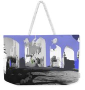 Back North Entrance #2 Of San Xavier Mission Tucson Arizona 1979-2013  Weekender Tote Bag