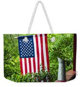 Back Porch Americana Weekender Tote Bag by Carolyn Marshall