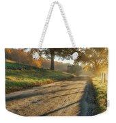 Back Road Morning Weekender Tote Bag by Bill Wakeley