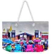 Back Row Seats Weekender Tote Bag