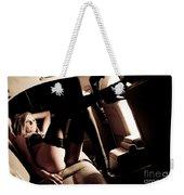 Back Seat Weekender Tote Bag
