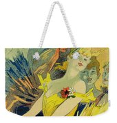 Back-stage At The Opera Weekender Tote Bag by Jules Cheret