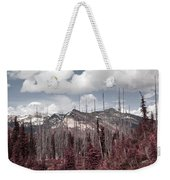 Back To Mountains Weekender Tote Bag