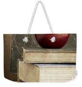 Back To School Apple For Teacher Weekender Tote Bag