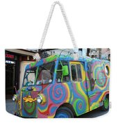 Back To The Sixties Weekender Tote Bag