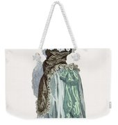 Back View Of A Promenade Gown, Engraved Weekender Tote Bag