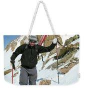 Backcountry Skiing, Citadel Peak, Co Weekender Tote Bag