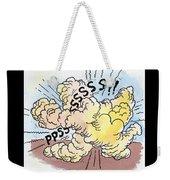 Backfire Weekender Tote Bag