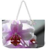Backlit Orchid Weekender Tote Bag