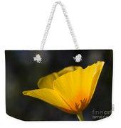 Backlit Poppy Weekender Tote Bag