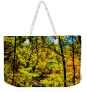 Backroads Of The Great Smoky Mountains National Park Weekender Tote Bag