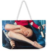 Backseat Number Weekender Tote Bag