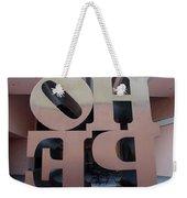 Backside Of Hope Weekender Tote Bag