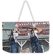 Backwards Bluegrass Weekender Tote Bag