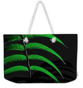 Backyard Abstract Weekender Tote Bag