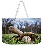 Backyard Baseball Memories Weekender Tote Bag
