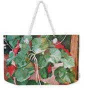 Backyard Begonia Weekender Tote Bag