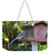 Backyard Bird Feeder Weekender Tote Bag