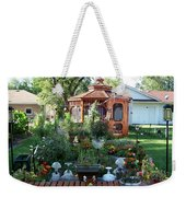 Backyard Garden Weekender Tote Bag