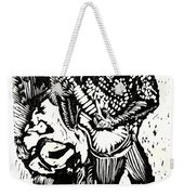 Backyard Music Weekender Tote Bag