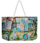 Backyard Play Simple Times Weekender Tote Bag