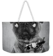 Bad Dog Weekender Tote Bag by Edward Fielding