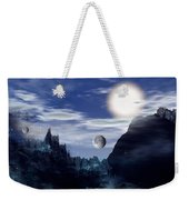 Bad Moons On The Rise Weekender Tote Bag