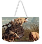 Bad Pigs Weekender Tote Bag