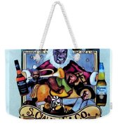 Bad Santa Weekender Tote Bag