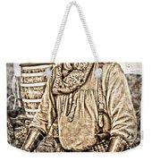 Bad Times Pilgrim Gotta Be Ready Weekender Tote Bag