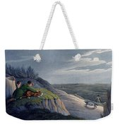 Badger Catching, 1820 Weekender Tote Bag