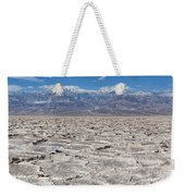 Badwater Basin - Death Valley Weekender Tote Bag