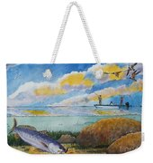 Fishing Baffin Bay Texas  Weekender Tote Bag