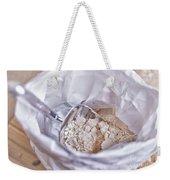 Bag Of Flour With Scoop Weekender Tote Bag