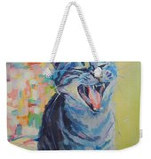 Bah Humbug Weekender Tote Bag by Kimberly Santini