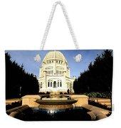 Bahai Temple Weekender Tote Bag