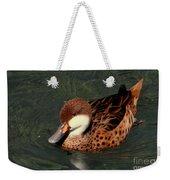 Bahama Pintail Duck Weekender Tote Bag