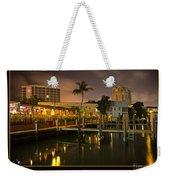 Bahia Cabana Docks Weekender Tote Bag