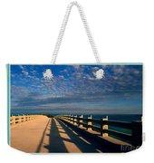 Bahia Honda Bridge In The Florida Keys Weekender Tote Bag