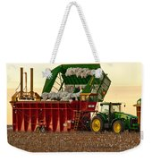 Bailing Cotton Weekender Tote Bag
