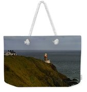 Baily Lighthouse Weekender Tote Bag