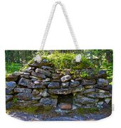 Bake Oven From 1884-5 In  Kicking Horse Campground In Yoho Np-bc Weekender Tote Bag