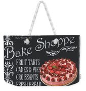 Bake Shoppe Weekender Tote Bag by Debbie DeWitt