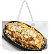 Baked Pasta With Meat And Cheese Weekender Tote Bag