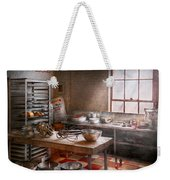 Baker - Kitchen - The Commercial Bakery  Weekender Tote Bag by Mike Savad