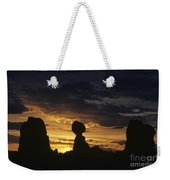 Balance Rock Arches National Park Weekender Tote Bag