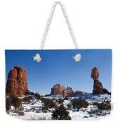 Balanced Rock Arches National Park Utah Weekender Tote Bag