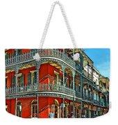 Balconies Painted Weekender Tote Bag