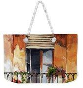 Balcony Of Ancona Weekender Tote Bag