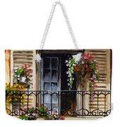 Balcony Of Ferrara Weekender Tote Bag